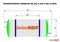 RESERVATÓRIOS 200-500-800L